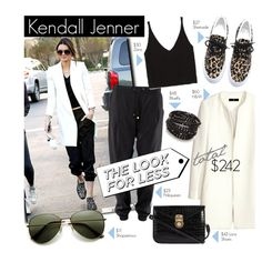 Kendall Jenner... Style icon by clovers-mind on Polyvore featuring Zara, H&M, 7 Chi, NAKAMOL, LookForLess, CelebrityStyle and styleicon
