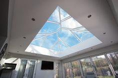 Make the most of daylight with Korniche Lanterns. Roof Lantern, Light Well, Roof Window, Roof Light, Open Plan, Modern Lighting, Lanterns, Living Spaces, Windows