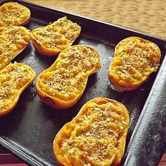 Twice Baked Butternut Squash - Blueberries and Blessings