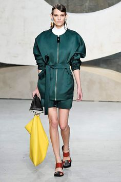 Marni spring/summer 2016 collection show pictures | Harper's Bazaar #fashion #fashionista #style #instyle