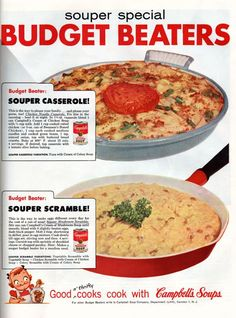 Chronically Vintage: Two quick and easy 1950s cold weather Campbell's Soup recipes