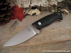 """Tom Krein, Bushcraft , A2 3 1/2"""" blade."""