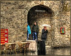 Al fresco dinning in Scotland by mike.coats, via Flickr