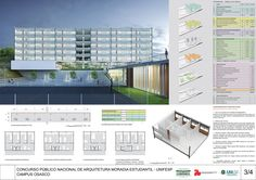 Galeria - Proposta finalista do concurso para a Moradia Estudantil da Unifesp Osasco / Albuquerque + Schatzmann arquitetos + Diego Tamanini + Felipe Finger - 23