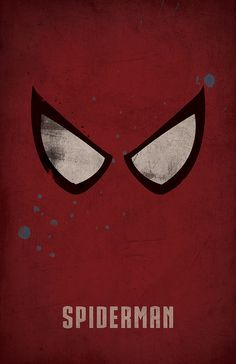 Spiderman Minimalist Poster by WestGraphics on Etsy