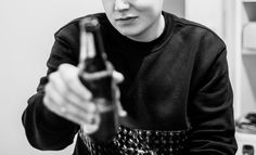 3D sweatshirt & beer ;)
