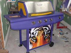 LSU BBQ Pit  Dear Jesus this exists