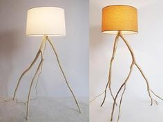 Storm-Felled Branches Are Recycled into Hand-Made Lamps