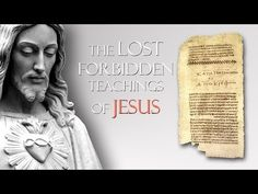 The Lost Forbidden Teachings of Jesus - An ancient Christian tomb was discovered in 1945 when workers in Egypt found 13 leather-bound manuscripts. La Passion Du Christ, Seven Archangels, What Happened To Us, Words Of Jesus, Everything Is Connected, Early Christian, World Religions, Spiritual Path, Human Emotions