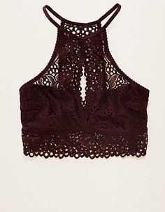 14296d37c65 Aerie Lace Hi Neck Bralette - Buy A Dress   Get It For  15! Cute