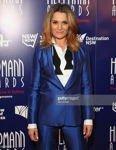 Danielle Cormack arrives at the 2015 Helpmann Awards at the Capitol Theatre on July 27, 2015 in Sydney, Australia.