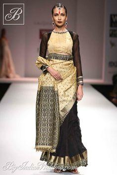 Vaishali S traditional wear with Muga silk