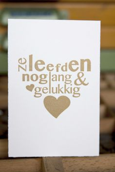Love Letterpress Valentijn
