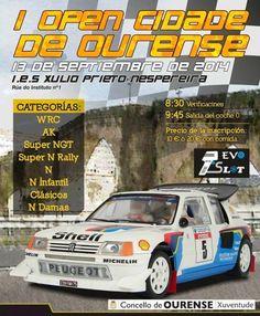 I Open Rallye Slot Cidade de Ourense en IES Julio Prieto Nespereira , Ourense