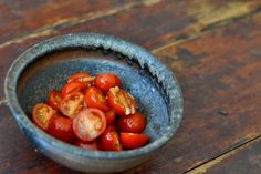 Samuel Johnson's oval bowl is a wonderful reminder of the way in which food and wood-fired ceramics harmonize.