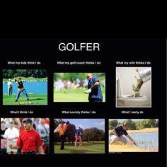 Golf... perception vs reality