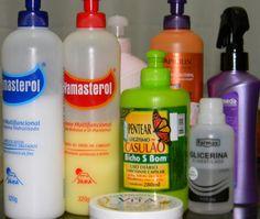 Cremes de pentear baratos para cabelos cacheados/crespos