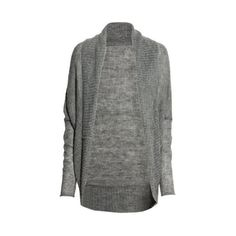 H&M Knitted cardigan ($23) ❤ liked on Polyvore featuring tops, cardigans, loose fit tops, knit tops, loose knit top, h&m cardigan and h&m tops