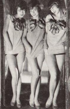 France. Sisters G, 1920s, Paris