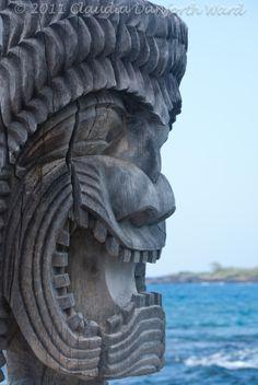 Pu`uhonua o Honaunau National Historical Park, the City of Refuge on the Island of Hawaii