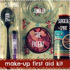 How to mend your broken make-up. Takes minutes, no mess - and saves a ton of cash.