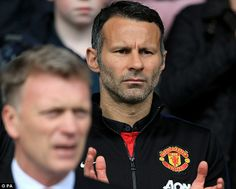 Ryan Giggs is said to be upset by United's slump and there has even been suggestions he could replace David Moyes as Manchester United manager