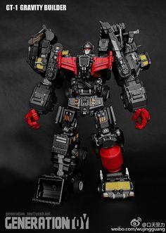 Ver Oversize figura W// kit di aggiornamento JINBAO MMC Predaking Nero Rex K.O