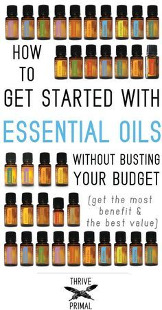 Wellness Thrive-Primal---how-to-get-started-with-doTERRA-essential-oils - Getting started with essential oils can be overwhelming. Here's 15 therapeutic doTERRA essential oils to help with everyday ailments, at a great price! Essential Oil Uses, Natural Essential Oils, Young Living Essential Oils, Essential Oil Diffuser, Essential Ouls, Essential Oils For Pain, Elixir Floral, Aromatherapy Oils, Doterra Essential Oils