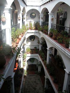 Hotel Santo Tomas in Chichicastenango, Guatemala