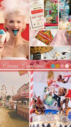 Circus Carnival Wedding Inspiration http://vintagetearoses.com/circus-carnival-wedding-inspiration/ #vintage #wedding