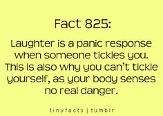 Makes me feel a little guilty for tickling my kids all the time....not guilty enough not to do it again, though. :)