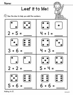 Add It Up! Addition Worksheets