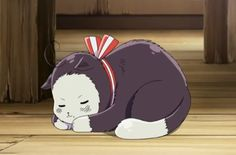 Hetalia - World Series Episode 31, Sleeping Austria Cat.