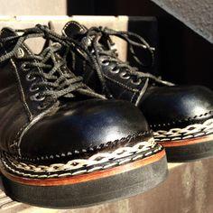 SAVOIA 004:Dr.martens BUHI Custom shoes