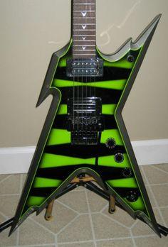 Dean Guitars Dimebag Razorback Sub Lime Green