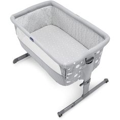 Chicco Next 2 Me Bed Side Crib Adaptable circles grey - Collection 2016