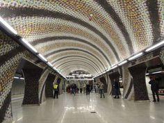 4-es Metró Gellért téri megállója,Budapest