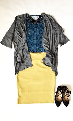 Lularoe Julia dress, Cassie skirt and Lindsay kimono #lularoe @lularoecelestinaballmann