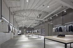 Nendo, negozio Theory a Melrose, Los Angeles, California