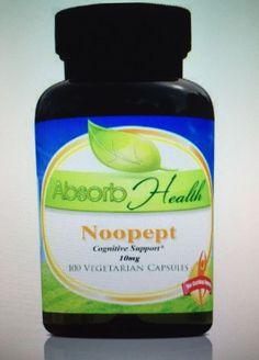 Noopept Capsules 100 grams Decrease Stress Improve Focus Improved Mental Energy