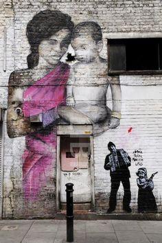 Ben lent & Ma o Shishu & JEF AEROSOL #streetart