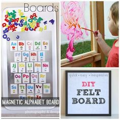 homemade activity boards to make for kids