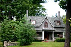 Historic home in Marshall, Michigan(1857) (400 N Kalamazoo Rd.). Marshall, MI. Style: Gothic Revival.