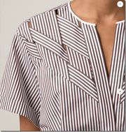 Love the details Nina Ricci Woven Striped Shirt – Capitol – – blouse Fashion Details, Unique Fashion, Latest Fashion, Fashion Trends, Fabric Manipulation, Mode Inspiration, Morning Inspiration, Mode Style, Refashion