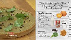 Les Carnets de Julie - La cuisine épicée - Tarte rhubarbe au poivre Timut et crème de curry corsaire d'Olivier