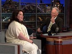 TV BREAKING NEWS David Letterman - Melissa McCarthy's Wild Child - http://tvnews.me/david-letterman-melissa-mccarthys-wild-child/