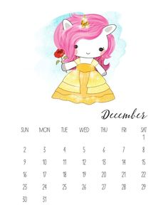 We have some Pop Culture Fun for you with this New Free Printable 2018 Pop Culture Unicorn Calendar that is filled with smiles! Print and ENJOY! : )