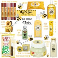 Burt's Bees and Baby Bee Products!