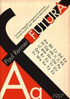 Futura typeface #type