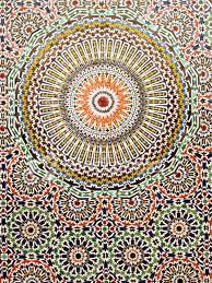 mosaique céramique maroc -